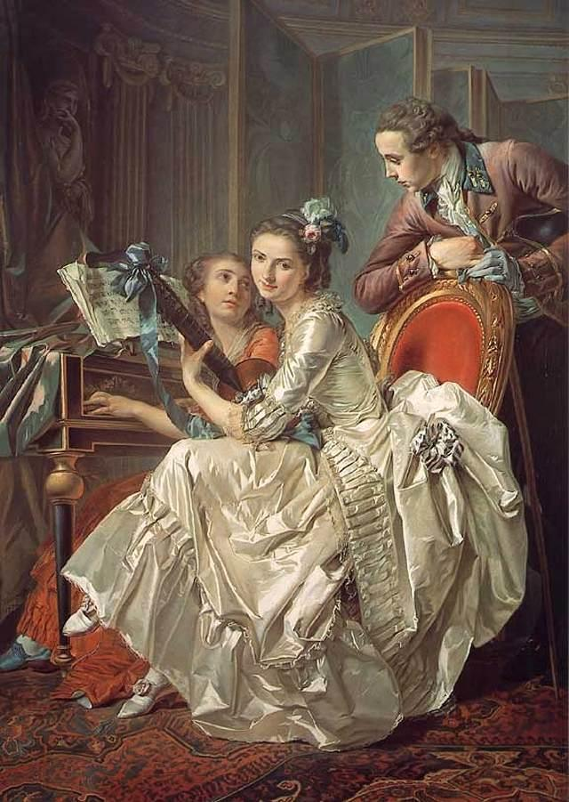 Rolland Trinquesse, The Music Party 1774