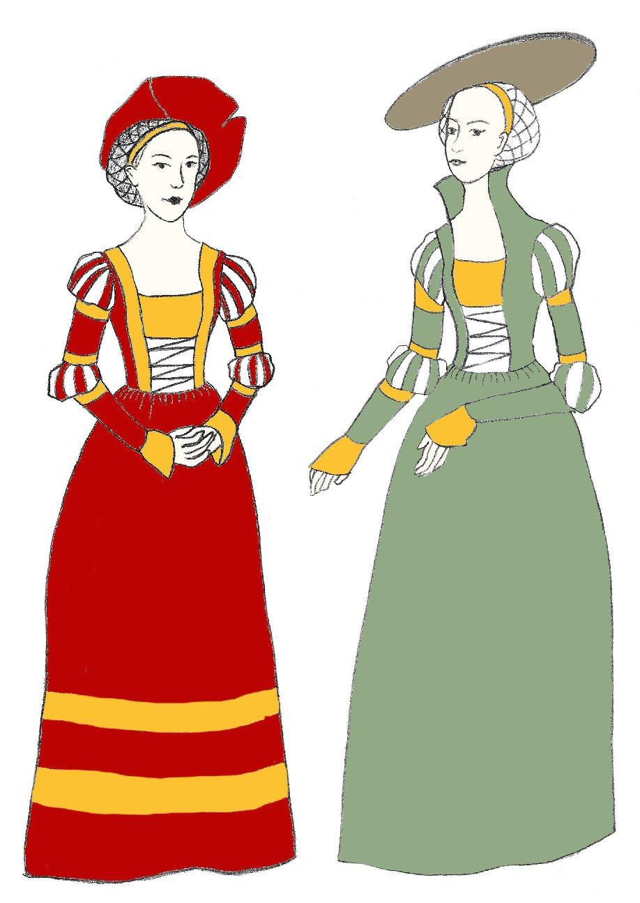 Cranach Gown (NP E605) – Nehelenia Patterns