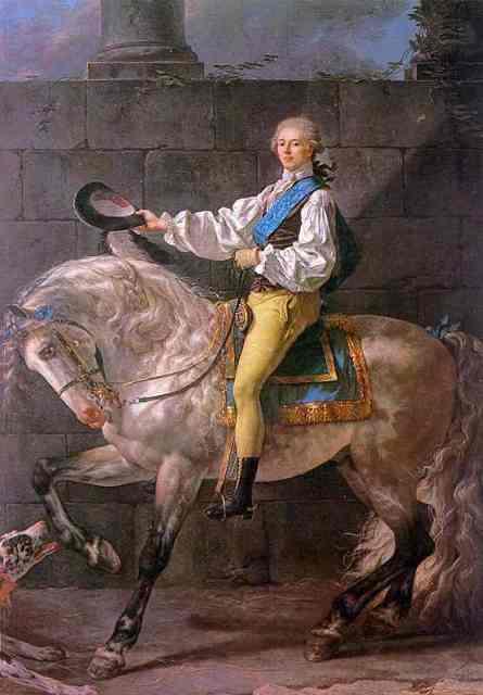 Jaques-Louis David Graf Stanislas Potocki 1780