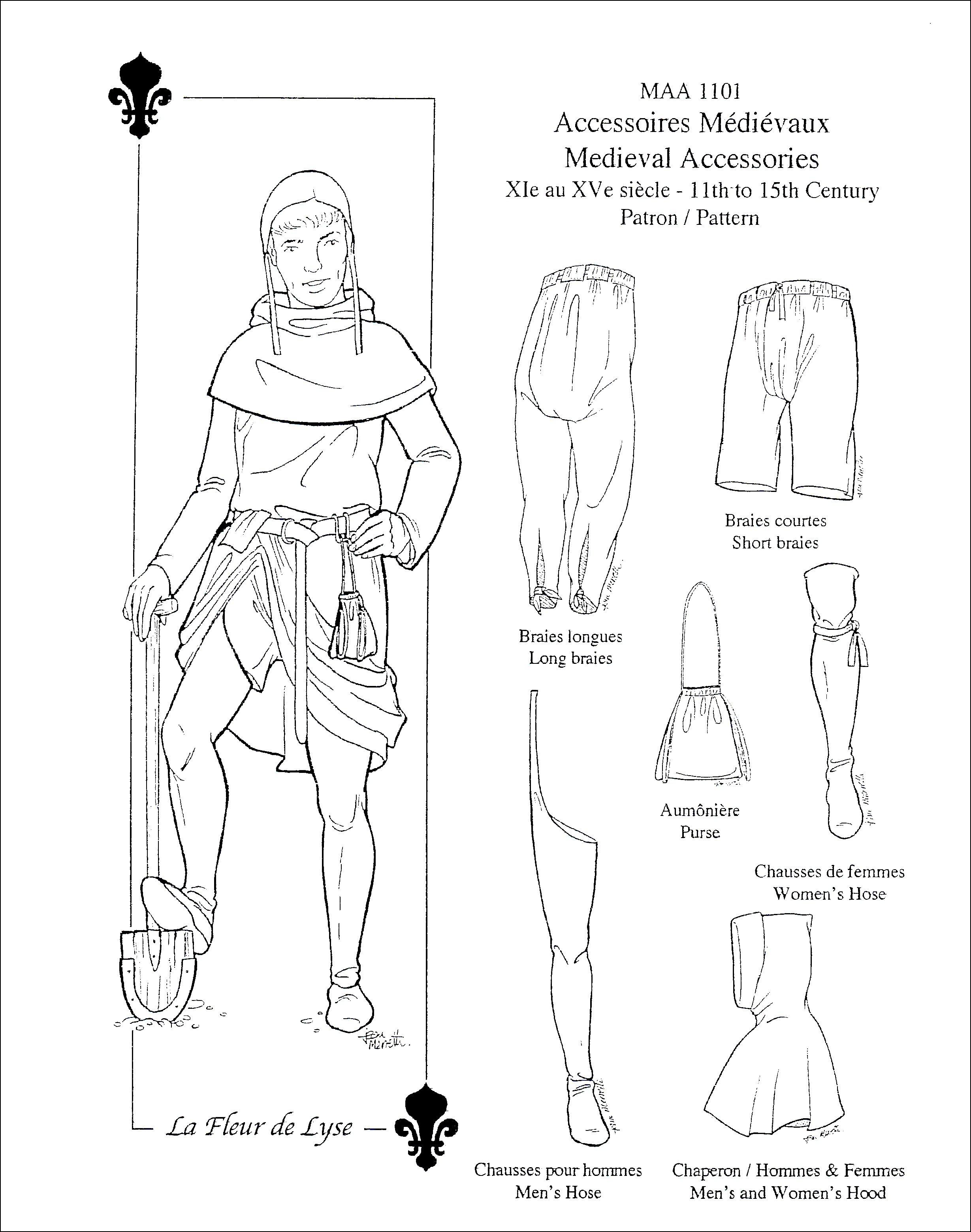Mittelalterliche Accessoires 11.-15. Jh. für Damen und Herren ...