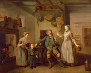 Zoffany, The Farmer's Return (1762)
