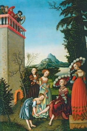 David und Bathseba ca. 1534