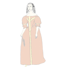 1660s Gown   (NP E800)