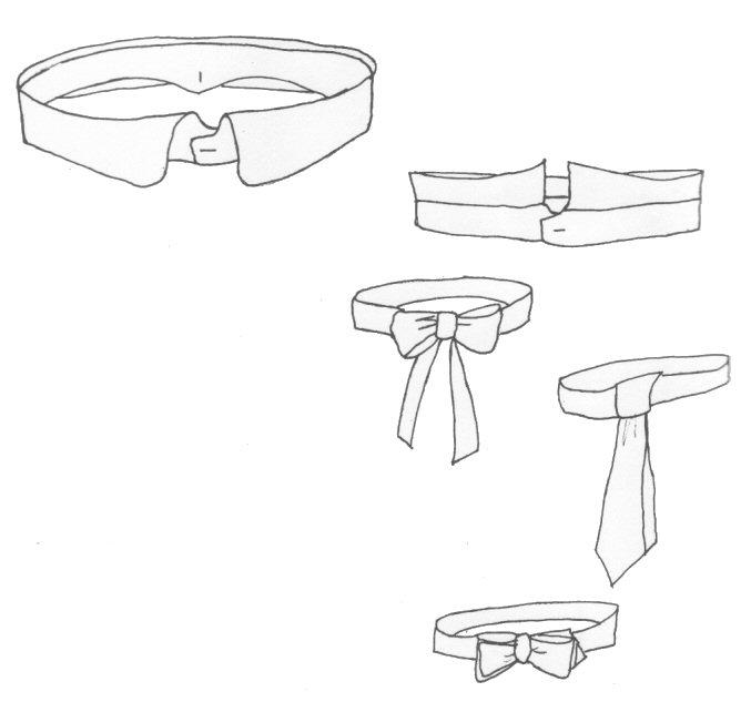 Kragen und Krawatten (PI700) – Nehelenia Patterns