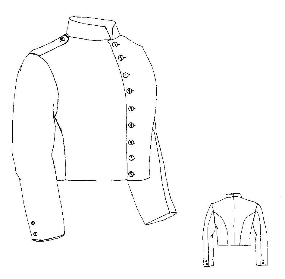 Shell Jacket (PI714) – Nehelenia Patterns