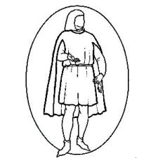 Men's Tabbard Cape (RH145)