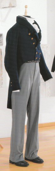 Extant tailcoat in Chur / CH. Shoes and trousers are not matching this style!