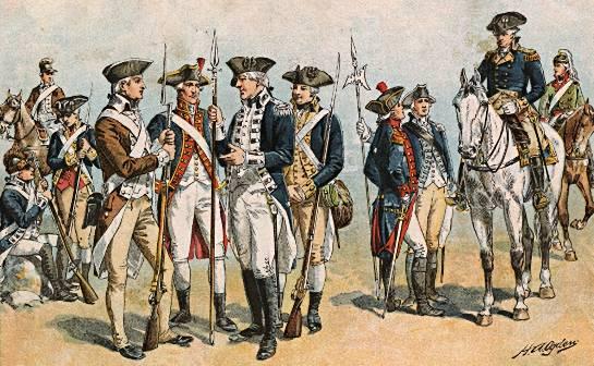Soldaten 1775-1783