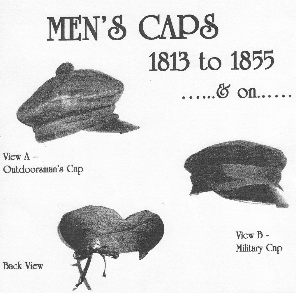 cbf2acb37e8 Men s Caps 1813 - 1855 (CWH09) - Nehelenia Patterns