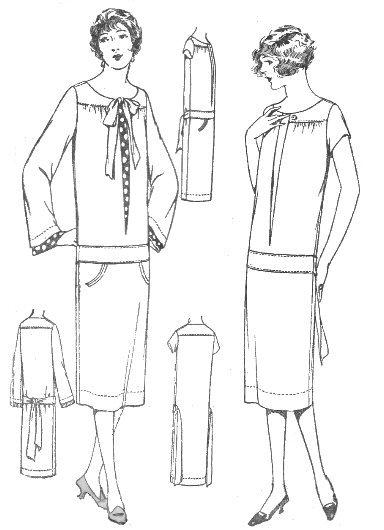 Pariser Modellkleid (NP210) - Nehelenia Patterns