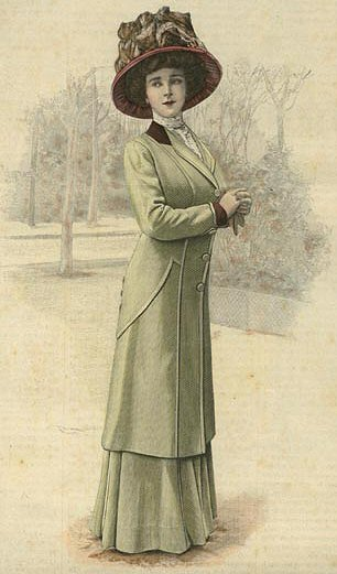 """La Mode Illustrèe"" October 1909"