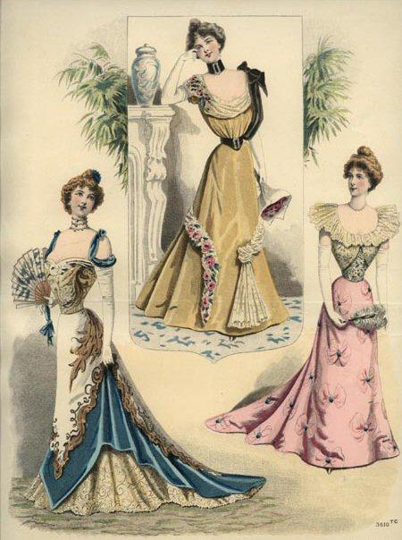 La Moniteur de la Mode Dezember 1898