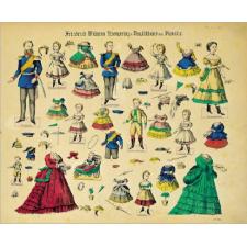 Ankleidefiguren Kronprinz Friedrich Wilhelm / fashion dolls Prince Friedrich Wilhelm