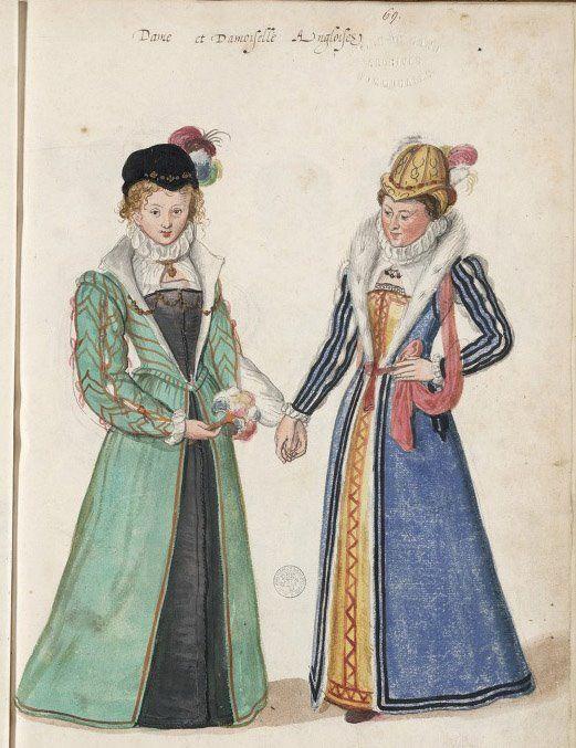 Lucas DeHeere, Englische Damen