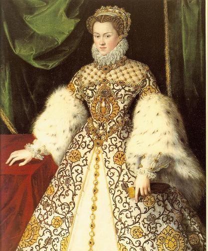 Elisabeth von Österreich 1570