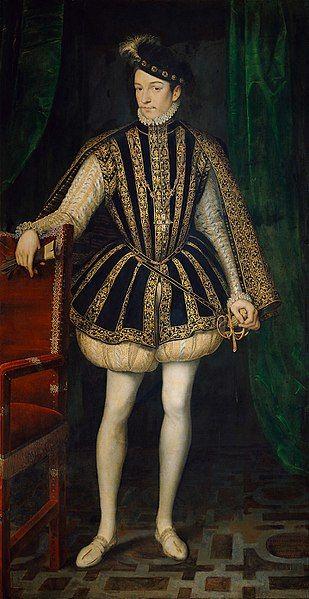 Charles IX. von Frankreich (1566) Clouet